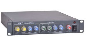 מגבר דיגיטלי 2 כניסות מייק 2 כניסות UMT CRU360 2 X 100W LINE