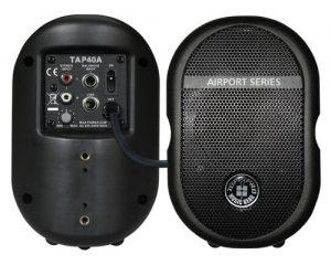 רמקול מוגבר צבע שחור Topp Pro TAP40A