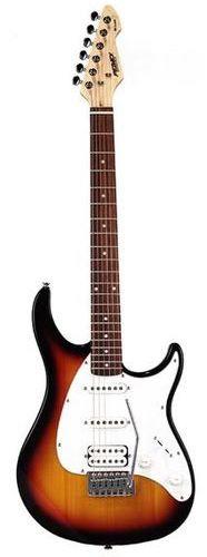 גיטרה חשמלית PEAVEY Raptor Plus SUNBURST SSH