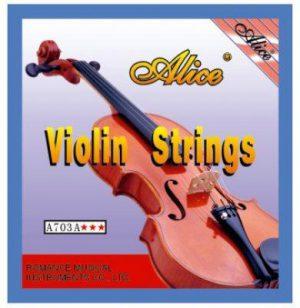 סט מיתרים לכינור 1/2 Alice A703A