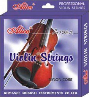 סט מיתרים לכינור Alice