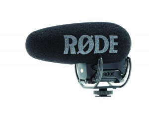 מיקרופון וידיאו + Rode VideoMic Pro