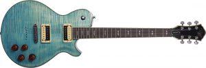 גיטרה חשמלית Michael Kelly  Patriot Decree HH Coral Blue