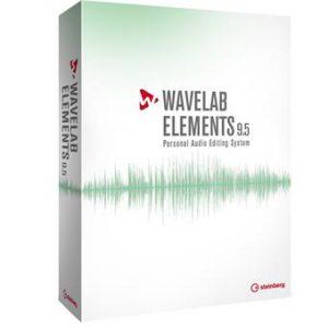 תוכנה לאולפן הקלטות Steinberg WaveLab Elements 9.5
