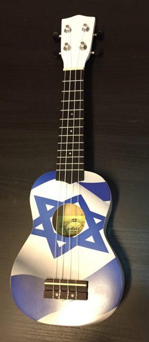יוקללה סופרן דגל ישראל Aloha UK300SF