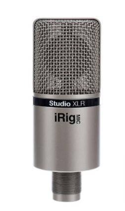מיקרופון קונדנסר IK Multimedia iRig Mic Studio XLR