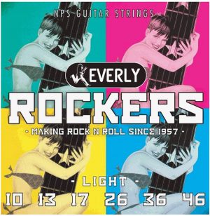 מיתרים לגיטרה חשמלית Everly Rockers 010-046