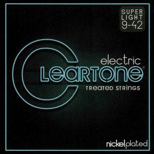 סט מיתרים לגיטרה חשמלית Cleartone 9409 EMP Nickel Plated 9-42