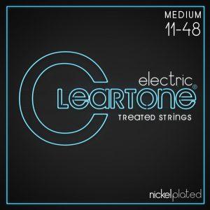 סט מיתרים לגיטרה חשמלית Cleartone 9411 EMP Nickel Plated 11-48