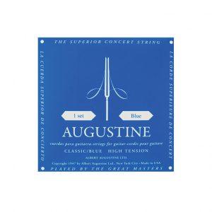 סט מיתרים לגיטרה קלאסית אוגוסטין כחול Augustine classic blue