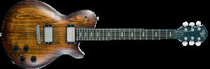 גיטרה חשמלית Michael Kelly  Patriot Decree OP Open Pore Tobaccoburst