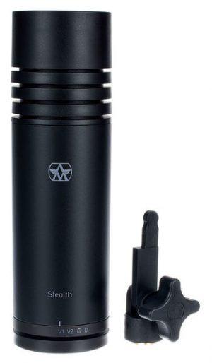 מיקרופון אולפני עם 4 הגדרות הקלטה Aston Microphones Stealth
