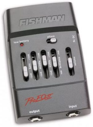 פראמפ אקולייזר לגיטרה Fishman Pro-EQII