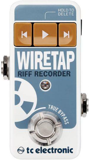 מקליט ריפים Tc electronic wiretap
