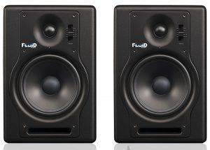זוג מוניטורים אקטיביים Fluid Audio F5