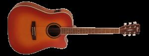 גיטרה אקוסטית מוגברת CORT AD890CF-LVBS CUT AWAY