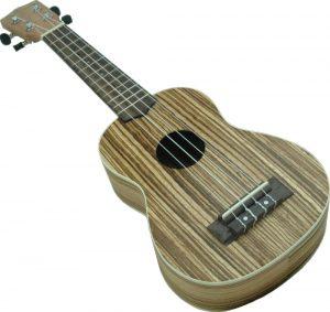 """יוקללה קונצרט  """"24 Romeo Excellence  ZEBRA WOOD Aloha"""