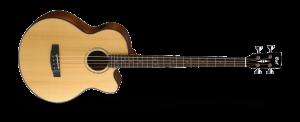 גיטרה בס אקוסטית מוגברת כולל נרתיק CORT AB850F NAT