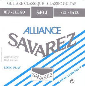 מיתרים לגיטרה קלאסית Savarez Alliance HT 540J