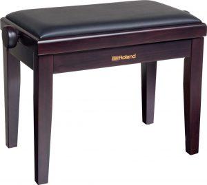 כיסא פסנתר חום Rosewood וריפוד שחור Roland RPB-200RW