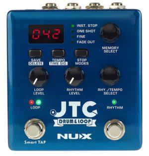 לופר עם מקצבי תופים Nux NDL-5 JTC Drum & Loop PRO