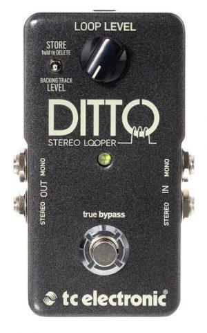 פדל לופר לכלי נגינה Tc electronic ditto stereo
