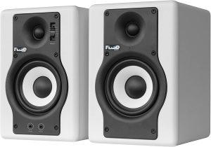 זוג מוניטורים אקטיביים Fluid Audio F4 לבן