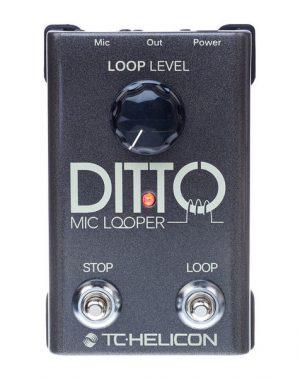 פדל לופר לשירה Tc helicon Ditto Mic Looper