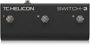 פדל שליטה לאפקטים לשירה Tc helicon switch 3
