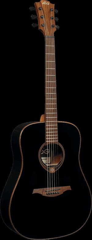 גיטרה אקוסטית Lag GLAT-118-BK