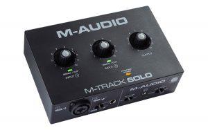 כרטיס קול M-Audio M-Track Solo