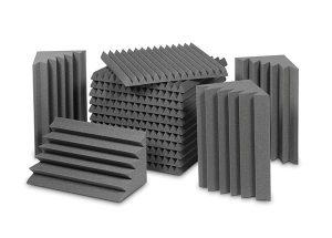 חבילת ספוגים לאקוסטיקה לחדר EZ Foam Acoustic Pack Small