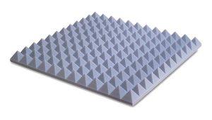 ספוג אקוסטי Basotec PYRAMIDAL 5 FR 60 x 60 x 5cm Ez acoustics