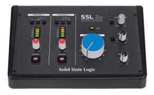 כרטיס קול +Solid State Logic SSL2