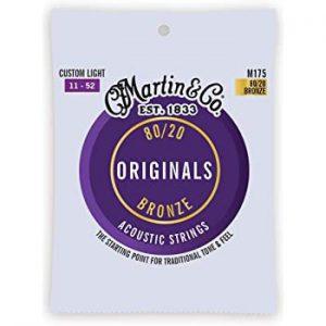 סט מיתרים 011 לגיטרה אקוסטית Martin Originals M175