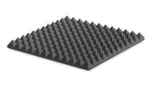ספוג אקוסטי אפור פירמידות Ez acoustics PYRAMIDAL 5 60 x 60 x 5 cm