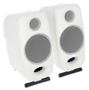 זוג מוניטורים אולפניים IK Multimedia iLoud לבנים