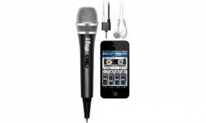מיקרופון קונדנסר כיווני עבור IK Multimedia iRig Mic iOS