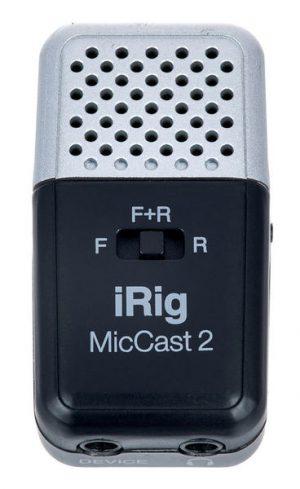 מיקרופון לפלאפון IK Multimedia iRig Mic Cast 2