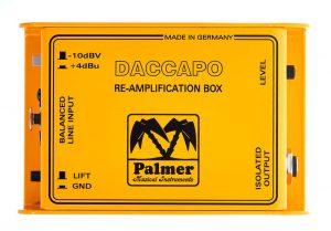 DI לחיווט הקלטה Palmer daccapo