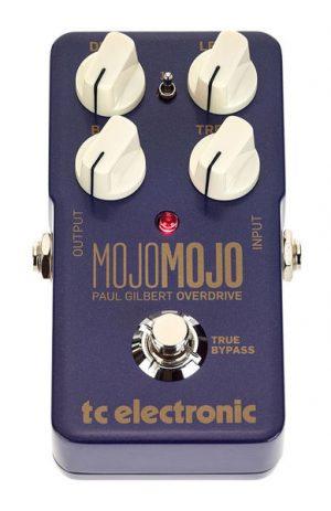 פדאל אוברדרייב לגיטרה חשמלית מהדורה מוגבלת פול גילברט TC Electronic MOJO MOJO