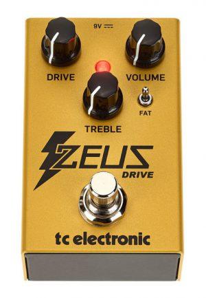פדאל אוברדרייב לגיטרה חשמלית TC Electronic ZEUS