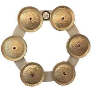 מצלצלים למצילה Big Fat SD 6″ Bling Ring White Copper