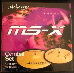 סט מצילות 16 קרש וזוג 14 Istanbul Agop MS-X Alchemy