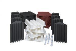 חבילת ספוגים לאקוסטיקה לחדר EZ Foam Acoustic Pack Large