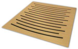 פנל אקוסטי מעץ Wood Panel 60 x 60 x 5 cm Ez acoustics