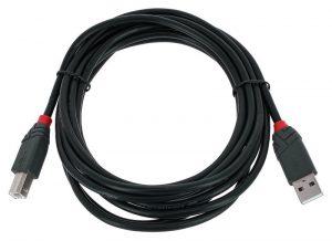 כבל USB 2.0 Type C – B באורך 2 מטר