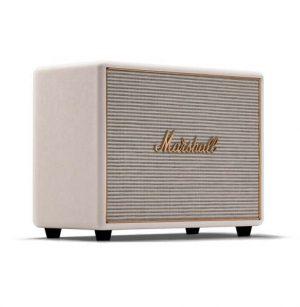 רמקול Bluetooth ביתי בצבע לבן עם טכנולוגית multi-room מבית Marshall