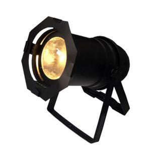 פנס PAR LED COB 98W 3000K  – זום ידני