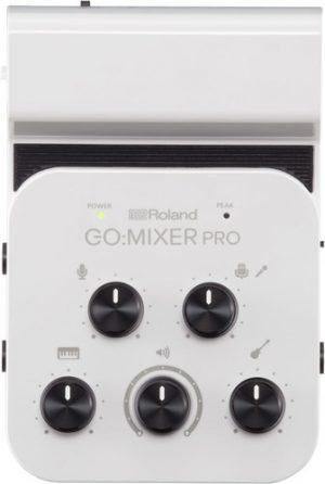 מיקסר אודיו 9 ערוצים לסמארטפונים ומכשירים ניידים Roland GO MIXER PRO